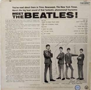 Meet The Beatles! Signed Album