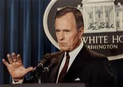 George H.W. Bush Signed Photo