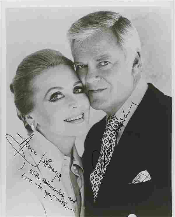 Anne Jeffreys and Robert Sterling signed photo