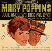 Marry Poppins cast signed Soundtrack