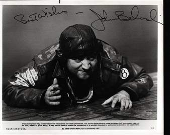John Belushi signed Movie photo