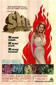 She original 1965 vintage one sheet movie poster
