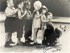 Our Gangs Mary Ann Jackson signed photo