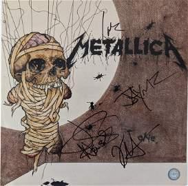 """Metallica """"One"""" Signed Album"""