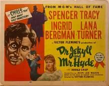 Dr. Jekyll and Mr. Hyde 1954 original vintage lobby