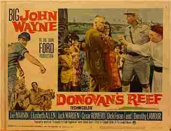 Donovan's Reef 1963 original vintage lobby card