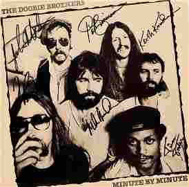 The Doobie Brothers signed Minute By Minute album