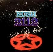 """Rush signed """"2112"""" album"""