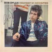 Bob Dylan Highway 61 Revisited Signed Album