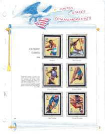 Olympic Games 1996 Commemorative Stamp Sheet