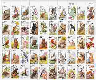 North American Wildlife Stamps