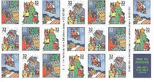 Contemporary Christmas: Family Scenes Stamps