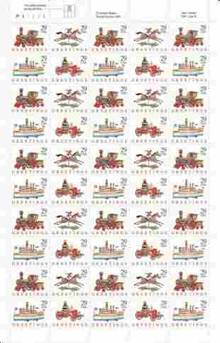 Christmas Toys Stamps