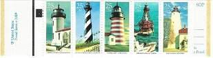 Historic American Lighthouses USA Stamp Book