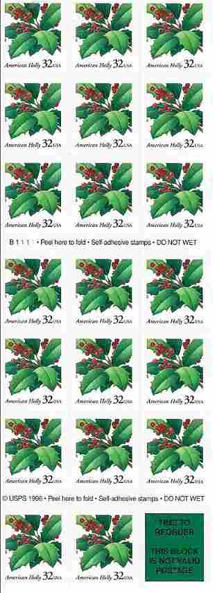 American Holly Stamp Set