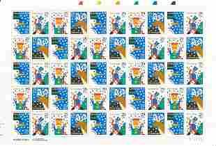 Christmas Season's Greetings Stamps