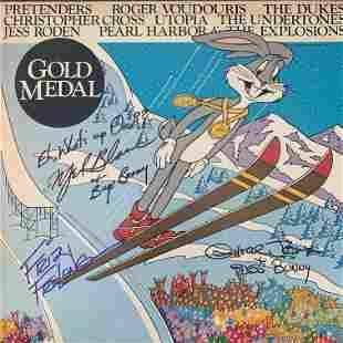Gold Metal signed soundtrack