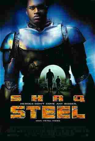 Steel original 1997 vintage one sheet movie poster