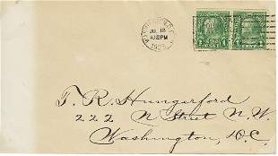 USA #597 First Day Cover - 1923