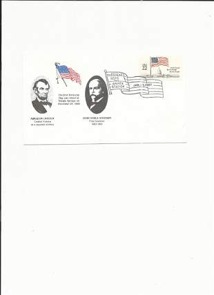 Abraham Lincoln - John Noble Goodwin - Show Cover -