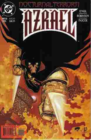 Azreal Agent of The Bat DC Comic Book #32