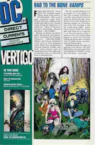 DC Direct Currents DC Comic Book #77