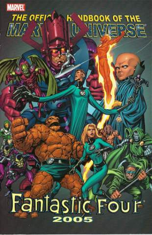 Official Handbook of The Marvel Universe Fantastic Four