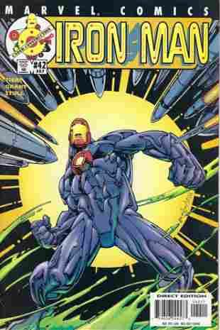 Iron Man Marvel Comic Book #42