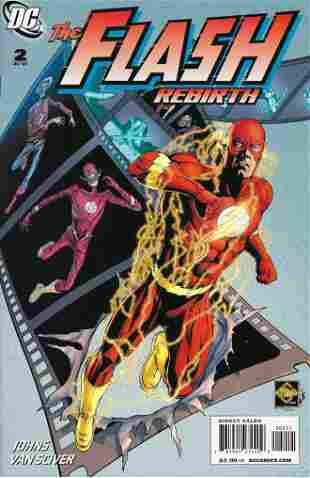 The Flash Rebirth DC Comic Book #2