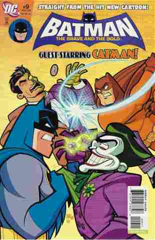 Batman The Brave and The Bold DC Comic Book #9