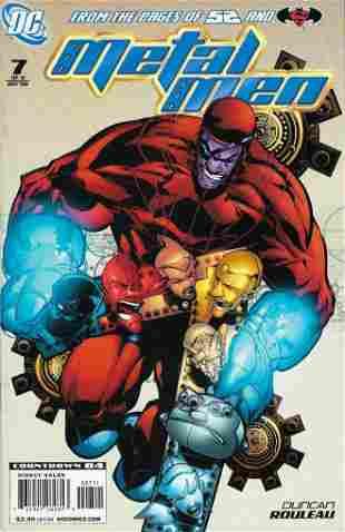 Metal Men DC Comic Book #7