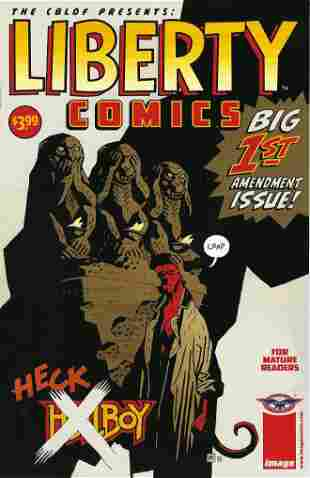 The CBLDF Presents Liberty Comics Image Comic Book #1
