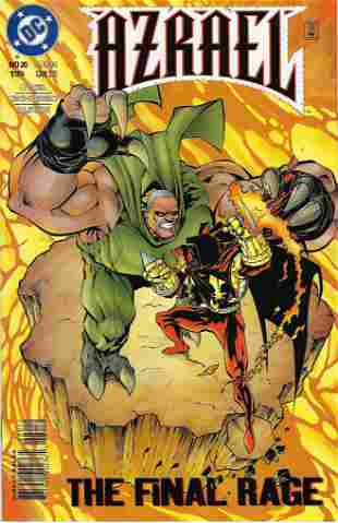 Azreal Agent of The Bat DC Comic Book #20