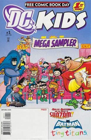 DC Kids Mega Sampler DC Comic Book #1