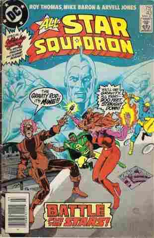 All-Star Squadron DC Comic Book #43