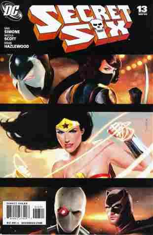 Secret Six DC Comic Book #13