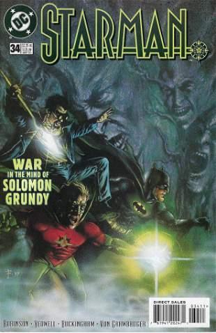 Starman DC Comic Book #34