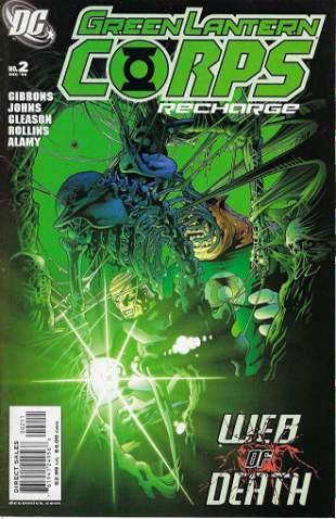 Green Lantern Corps Recharge DC Comic Book #2