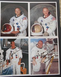 12 Men Who Walked on the Moon photo collection