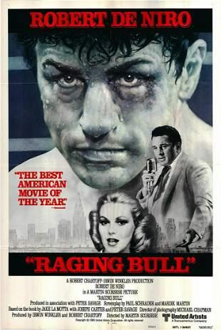 Raging Bull original 1980 vintage international one