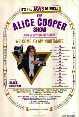 Welcome To My Nightmare: The Alice Cooper Show original
