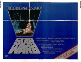 Star Wars original 1981R vintage one sheet movie poster