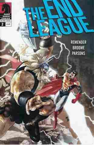 The End League Dark Horse Comic Book #2