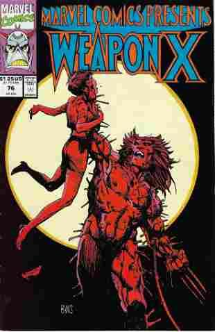 Marvel Comics Presents Weapon X Marvel Comic Book #76