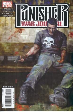 Punisher: War Journal Marvel Comic Book #21