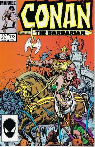 Conan The Barbarian Marvel Comic Book #173