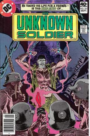 The Unknown Soldier DC Comic Book #231