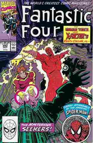 Fantastic Four Marvel Comic Book #342