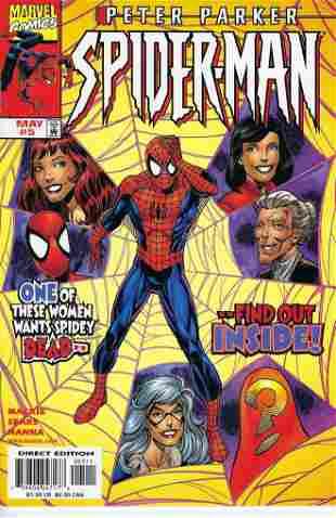 Peter Parker Spider-Man Marvel Comic Book #5
