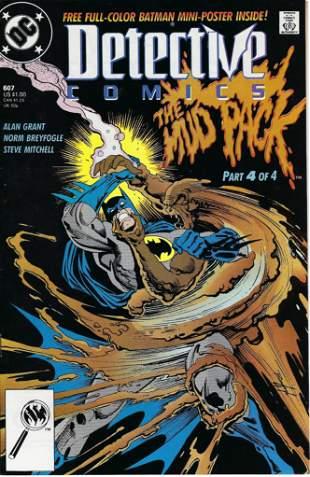 Detective Comics DC Comic Book #607